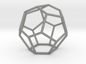 Fullerene with 15 faces in Gray Professional Plastic