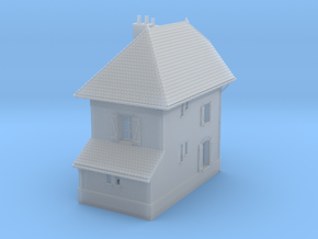 NBay04 - Barrier Guard House right in Smooth Fine Detail Plastic