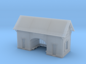 ZBay01 - Bayet's Platform shelter in Smooth Fine Detail Plastic