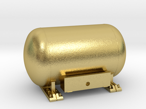 HO NW Propane Tank  in Natural Brass