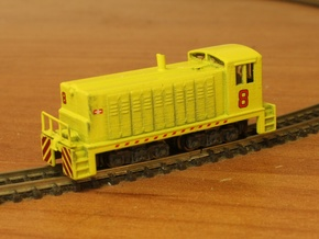 Open Window Switcher - Zscale in Smooth Fine Detail Plastic