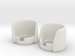 knob guard in White Natural Versatile Plastic