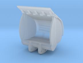 Sandlöffel 3 m³ für Liebherr 970SME und Herpa 954C in Smooth Fine Detail Plastic