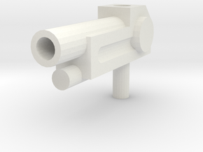 basic TF gun in White Natural Versatile Plastic