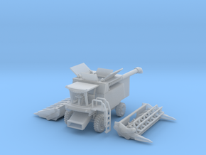 Combine Harvester Z scale in Smooth Fine Detail Plastic