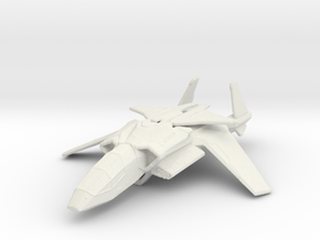 Halo UNSC Falcon Fighter 1:300 in White Natural Versatile Plastic