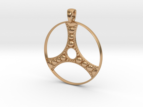 Apollonian Pendant in Polished Bronze