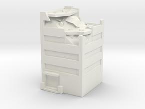 Ruin F in White Natural Versatile Plastic