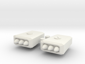 TF missile pods in White Natural Versatile Plastic