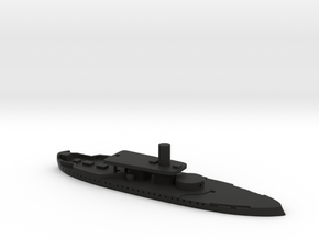 1/1250 HMS Rupert (1872) Gaming Model in Black Natural Versatile Plastic