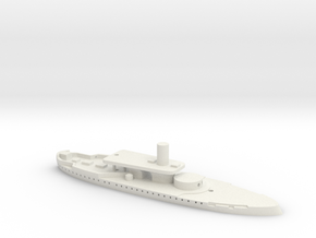 1/1250 HMS Rupert (1872) Gaming Model in White Natural Versatile Plastic