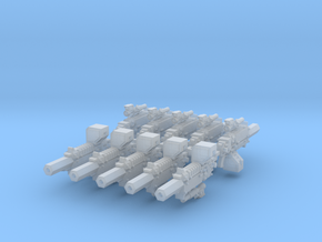Tactical Thunderbolt Rifle #1 x10 in Smooth Fine Detail Plastic