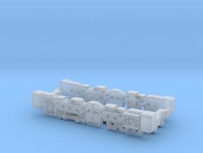 Bogie FGC 254 H0m in Smooth Fine Detail Plastic