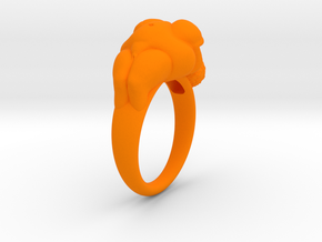 Venus Ring (for Hezza) in Orange Processed Versatile Plastic: 7 / 54