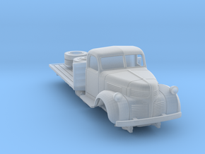 1:87 Dodge flatbed truck 1940 in Smooth Fine Detail Plastic