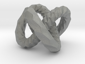 DRAGON Soft Solid, Pendant. Strong Pure.  in Gray PA12