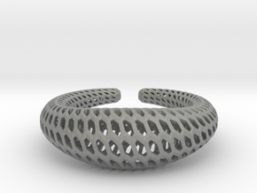 DRAGON Structura, Bracelet. Strong, Bold. in Gray Professional Plastic: Extra Small