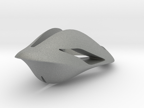 Floating Free, Pendant. Smooth Elegance in Gray Professional Plastic