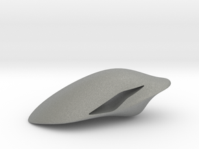 Floating Pendant. Smooth Shaped for Perfect Comfor in Gray Professional Plastic