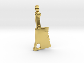 Dota 2 - Pudge Cleaver in Polished Brass