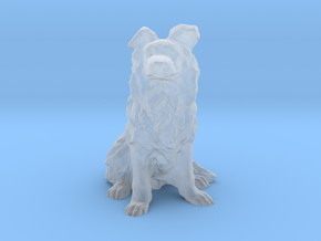HO Scale Border  Collie in Smooth Fine Detail Plastic