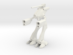 1/285 Space Attack Robot Suit in White Natural Versatile Plastic