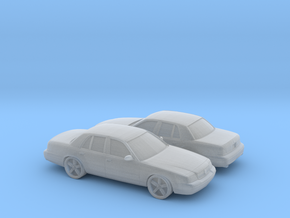 1/160 2X 2003 Mercury Marauder in Smooth Fine Detail Plastic