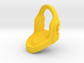Daft Punk Gold Cufflink in Yellow Processed Versatile Plastic