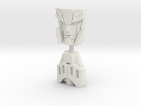 RiD Megatronus/Fallen Face Plates, G1 Style in White Natural Versatile Plastic