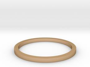 Ring Inside Diameter 13.4mm in Polished Bronze