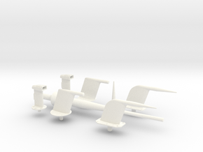 1.7-5 F14 PROBES COMBO in White Processed Versatile Plastic