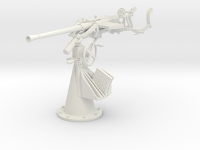 1/24 DKM Single 20mm FLAK C30 Lside in White Natural Versatile Plastic