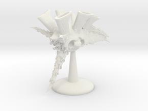 Hive Cruiser v4  in White Natural Versatile Plastic