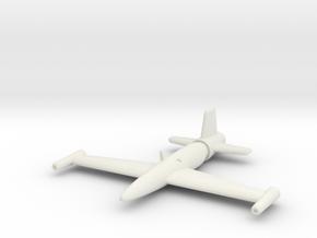 (1:200) Messerschmitt Schnellstflugzeug  in White Natural Versatile Plastic