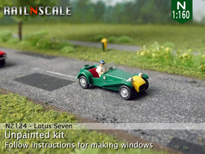 Lotus Seven (N 1:160) in Smooth Fine Detail Plastic