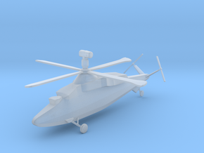 Westland WG.47B Stealth Helicopter in Smooth Fine Detail Plastic: 1:144