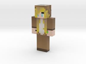 Evolie_Eden_Girl | Minecraft toy in Natural Full Color Sandstone