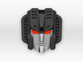 Seeker faceplate for Titans Return in Smooth Fine Detail Plastic
