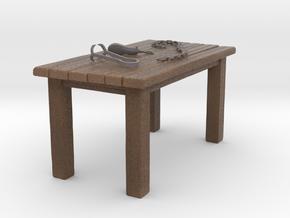 Torture Table in Natural Full Color Sandstone