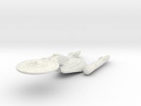 "Federation Wellington Class I  LtCruiser 4.7"" long in White Natural Versatile Plastic"