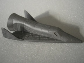 1/200 X-20 Dyna-Soar with launch fairing in Smooth Fine Detail Plastic