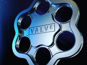 Valve Pendant in Polished Nickel Steel