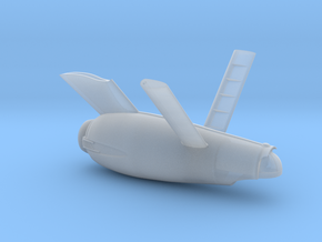 Reimagined Constitution Class Secondary Hull in Smooth Fine Detail Plastic