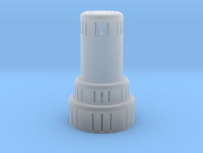 kerosene heater lighted in Smooth Fine Detail Plastic