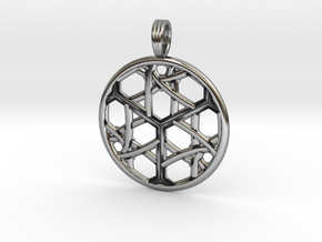CELTIC CUBE in Antique Silver