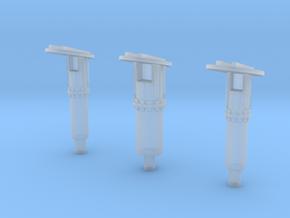 Shuttle MLP Rainbirds 1:72 in Smooth Fine Detail Plastic