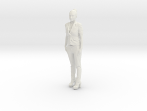 Printle C Femme 184 - 1/32 - wob in White Natural Versatile Plastic