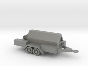 1/144 Scale Compressor Trailer in Gray PA12
