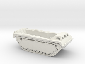 1/87 LVT-3 Amtrac 'Bushmaster' in White Natural Versatile Plastic