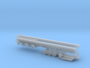 N Wind Blade Trailer (Expandable) in Smooth Fine Detail Plastic